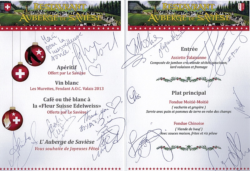 Ice Legends Autographes
