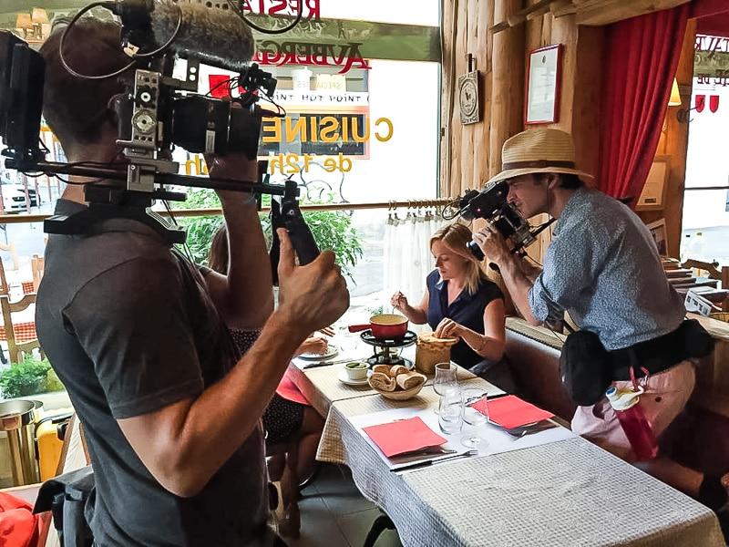 Tournage télévision québecoise