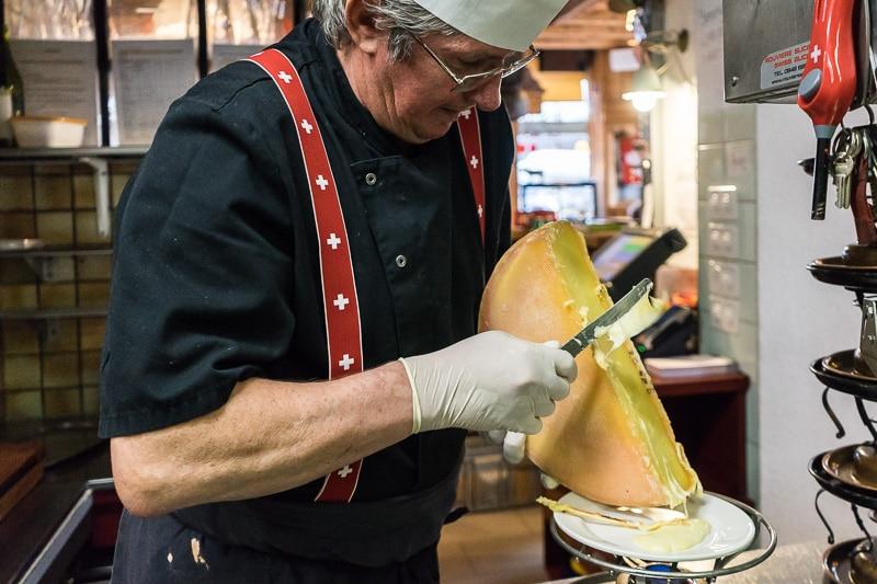 Auberge de Savièse - La Raclette