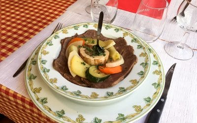 Pot au feu at the Auberge de Savièse