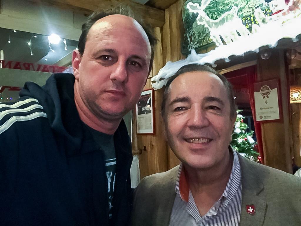 Rogério Ceni and Santiago