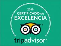 Trip Advisor Certificado de excellencia 2019