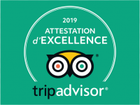Trip Advisor Attestation d'excellence 2019